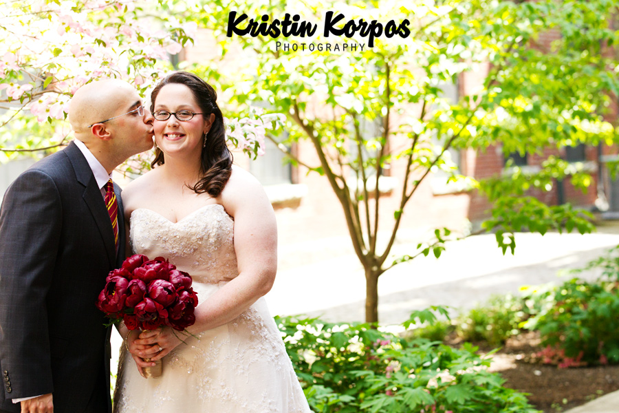 A42D2315 Kim & John   Chesters Bell Tower Square Wedding Photographer
